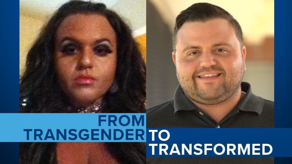Ex-transgender Jeffrey McCall Finds New Life In Christ Jesus