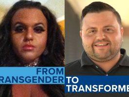 Ex-transgender Jeffrey McCall Finds New Life In Christ Jesus