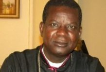 Archbishop Samuel Kleda is the leader of Cameroon's Roman Catholics