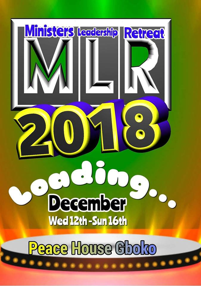 Ministers Leadership Retreat 2018 at Peace House, Gboko.