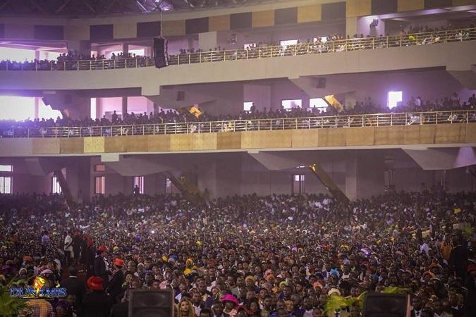 Inside Dunamis International Gospel Centre 100,000 Capacity Building - Glory Dome