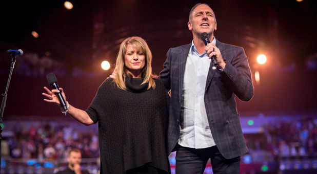 Hillsong Church Senior Pastors Brian and Bobbie Houston
