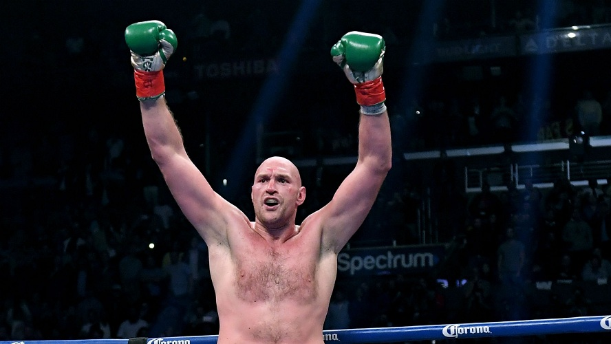 World Heavyweight Champion, Tyson Fury Preaches Jesus On BBC
