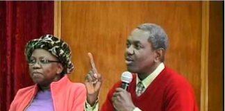 Bro Gbile Akanni with His Wife, Sade Akanni, Teaching The Word of God.
