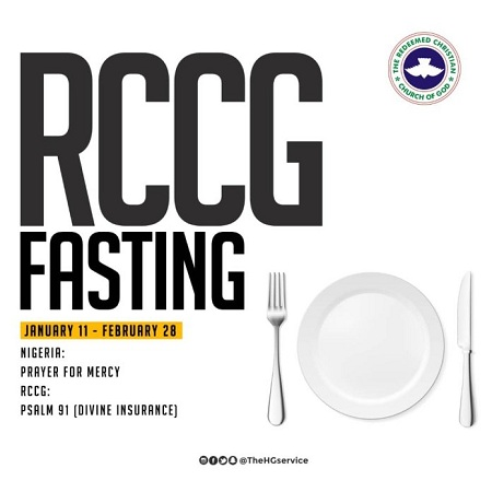 Download RCCG 2019 Fasting & Prayer Guide | Believers Portal