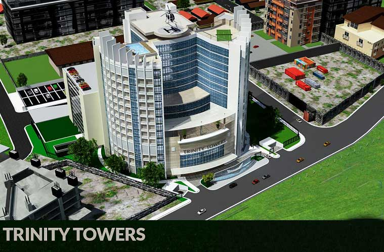 RCCG Mega Structure, The Trinity Towers