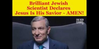 Brilliant Jewish Scientist Declares Jesus Is His Savior