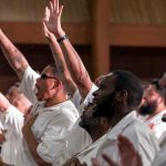 Coffield prison inmates worship at the newest campus of Gateway Church. (Gateway Church Photography)