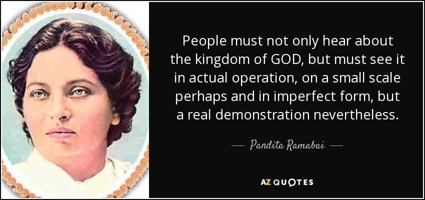 Pandita Ramabai Quotes