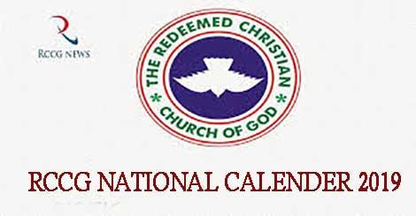 RCCG 2019 National Calendar