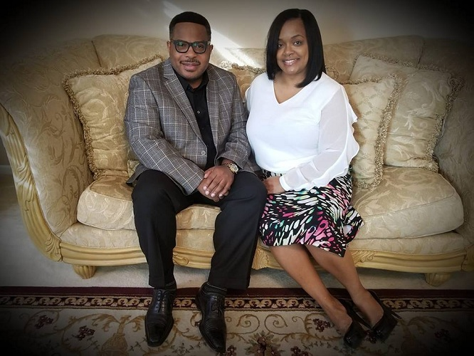 Bishop William Harris and wife, First Lady Regena M. Harris