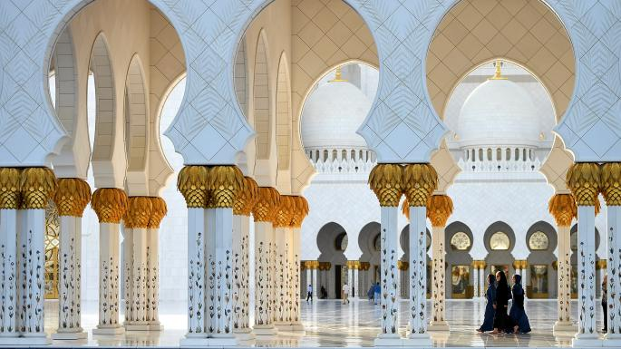General view of Sheikh Zayed Grand Mosque, now renamed Mary Mother of Jesus Mosque