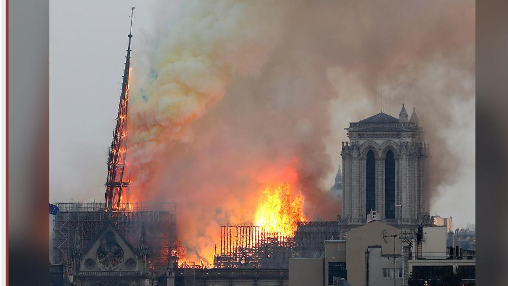 Notre Dame Cathedral in Paris caught fire on April 15, 2019