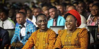 Pastor Dr. Paul Enenche and Pastor Dr. Mrs. Becky Enenche.