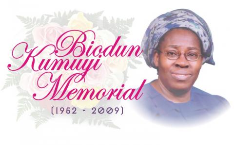 SISTER ABIODUN KUMUYI, Late wife of Pastor W.F. Kumuyi
