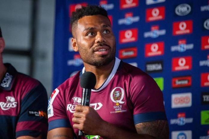 Australian rugby player Samu Kerevi of the Wallabies
