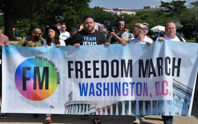 Freedom March, Washington D.C., May 25, 2019.