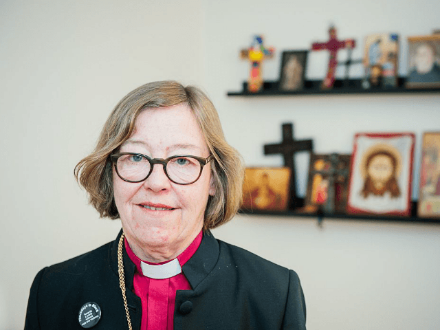 First lesbian bishop Eva-Brunne