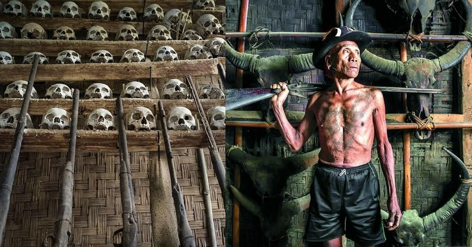 Naga Tribe - Head hunters