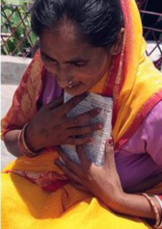Shanti, Former Hindu Woman who found Jesus in her over 10 years of sickness