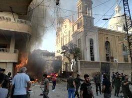 Car Bomb Strikes Syrian Christian Church