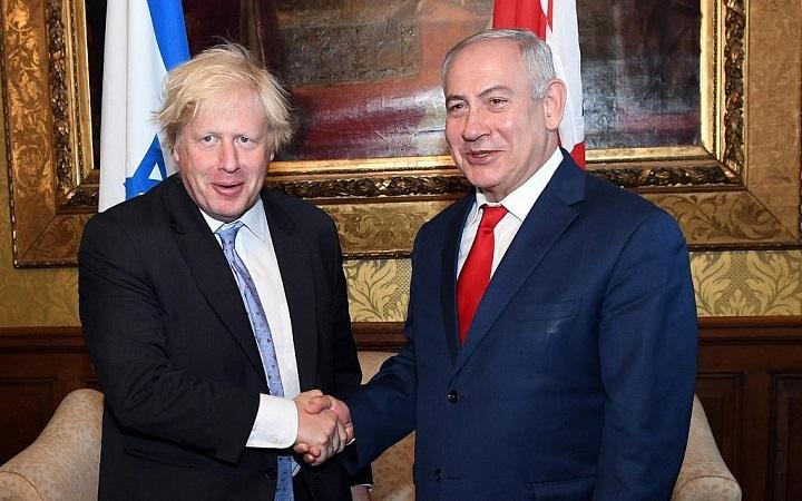Israeli PM-Netanyahu-and-Boris-Johnson