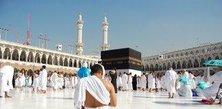 Muslim Pilgrim In Mecca