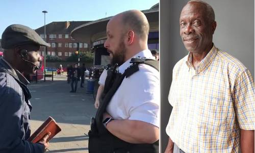 Oluwole Ilesanmi was arrested in February while preaching on the street of London