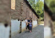 Elder Li Yingqiang of the Early Rain Covenant Church and his family