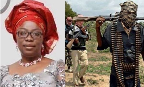 wife of the Anglican bishop of Ikeduru Diocese Mrs. Anuri Maduwuike kidnapped
