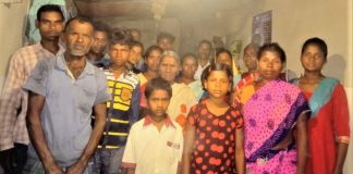 Five families in village in Jharkhand state, India punished for becoming Christians.