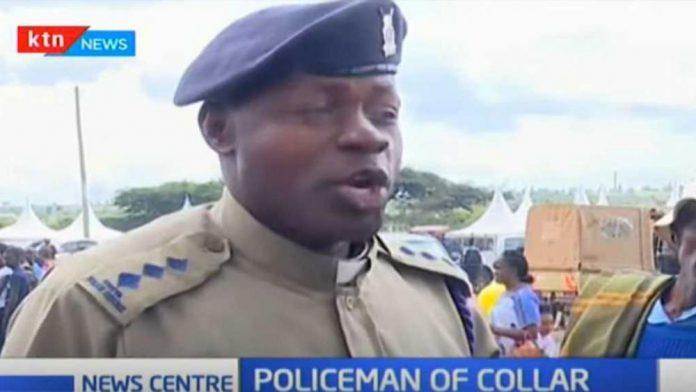 Kenyan Police Chief Inspector William Sifuna