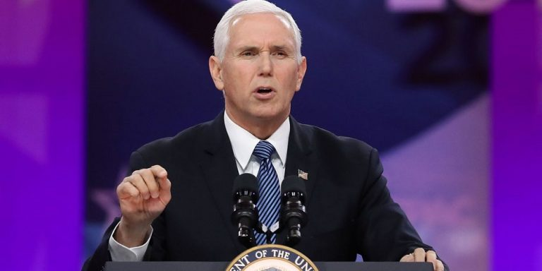 Coronavirus: 'We Do Not Grieve Like Those Who Have No Hope,' Mike Pence Says
