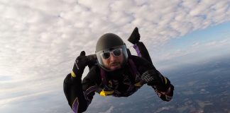 Skydiver Survives 200-Foot Fall Following Mid-Air Accident, Says Jesus Saved His Life