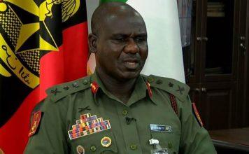 Nigeria Chief of Army Staff, Lt. Gen. Tukur Buratai