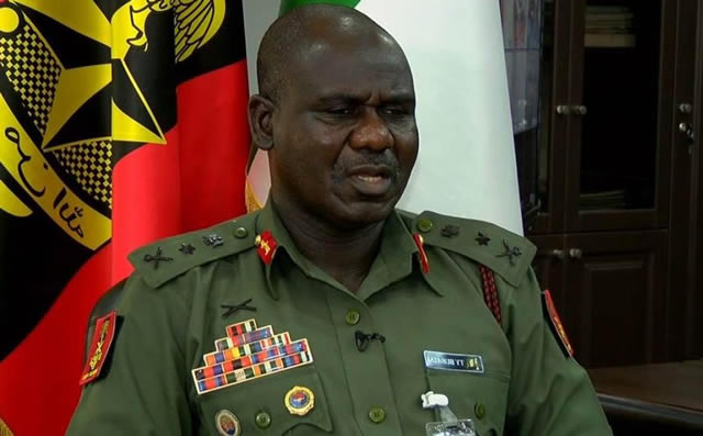 Spiritual Warfare Needed To Defeat Boko Haram — Nigeria Chief Of Army Staff Says