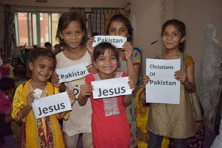 Pakistani Christian Children