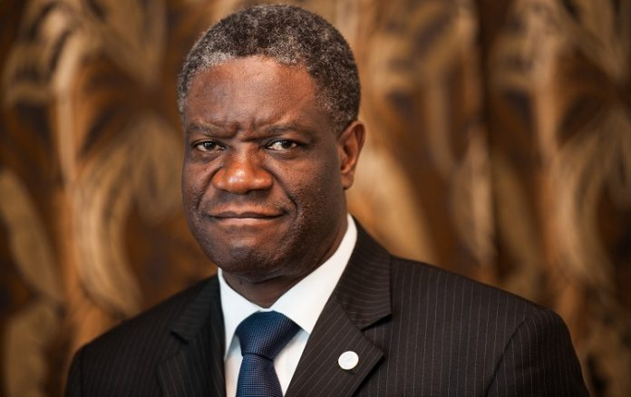 Pastor Denis Mukwege 2018 Nobel Peace Prize Winner
