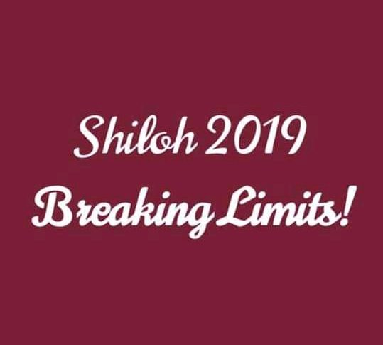 Shiloh 2019 Programme Schedule (Breaking Limits)