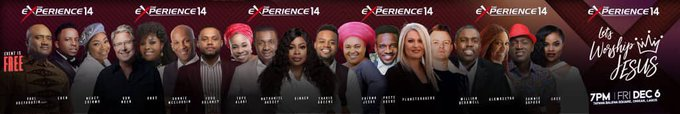 The Experience 2019 artistes