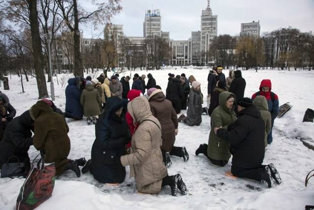 Why These Ukrainians Have Been Praying Every Day On Their Knees For Five Years
