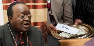 Kampala Archbishop Cyprian Kizito Lwanga Begs Government To Deduct Tithes Straight From Workers' Salaries