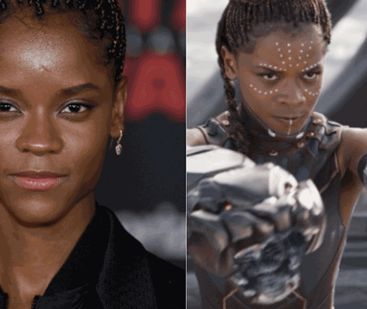 Black Panther Star Letitia Wright