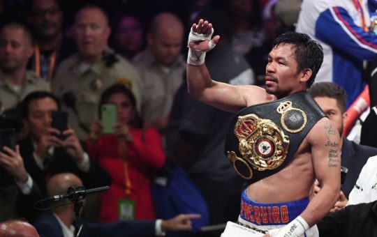 Boxing Champion Manny Pacquiao: Life Is Too Short. Read the Bible, It Is The Manual to Life
