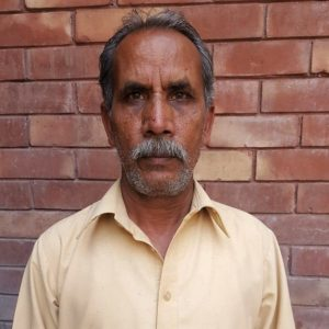 Asma's father, Yaqoob Masih (World Watch Monitor)