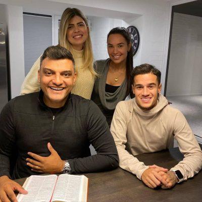 Coutinho Gets Baptized