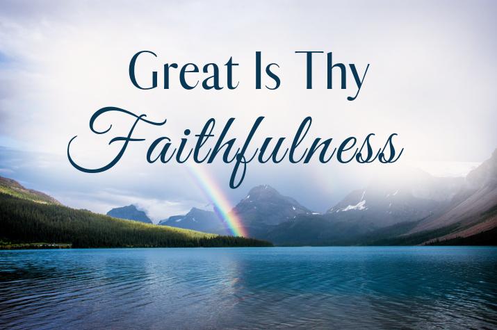 Great Is Thy Faithfulness Hymn Lyrics