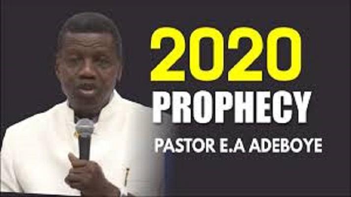 Pastor E.A. Adeboye (RCCG) 2020 Prophecy
