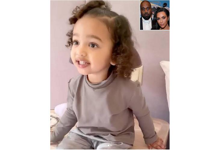 Kim Kardashian West Shares Video Of  Her 2-year-old daughter Singing 'Jesus, I Love You'