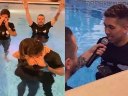 Liverpool Star Roberto Firmino Commits His Life To Jesus Christ, Gets Baptized